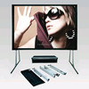 Fast Fold Movie Screen/Easy Folding Screen with Front&Rear Projection Optional/Fast Foldable Outdoor Projector Screen