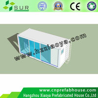 light Steel structure easy assemble prefabricated container house