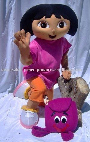 Dora traje de la mascota, Envío libre