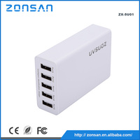 multi travel usb plug cell phone charger adapter