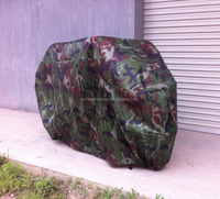 camouflage color motorcycle cover XXL size