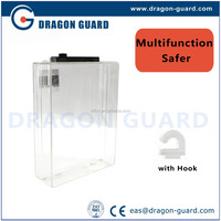 8.2MHz eas security Double-dvd Safer Box, dvd safer/box/case