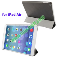 4-folding Leather Cover for iPad Air Smart Case