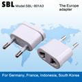Corea del Sur enchufe conversión estándar, adaptador calibrador, enchufe conversión universal,