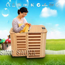 New Arrival Folding Half Body Infrared Sauna For Weight Loss with Digital Control Panel (CE/RoSH/ISO)