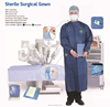 nonwoven sterile SMS/SMMS/PP surgical gown