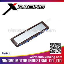 XRACING(PM642) LED LIGHT auto inner mirror car mirror/Black Frame Wide Angle Flat Rear View Mirror