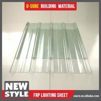 Corrosion resistance FRP lighting carbon fiber upvc roof tile