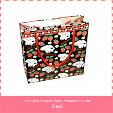 cheap plastic PP pp shopping bag tote bag professional OEM customized stationery factory