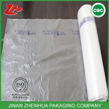 HDPE shopping bag supermarket bag plastic flat bags on roll