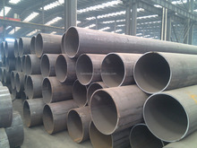 S355JR LSAW hollow low alloy cold formed black welded steel pipe