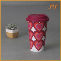 ceramic coffee mug without handle