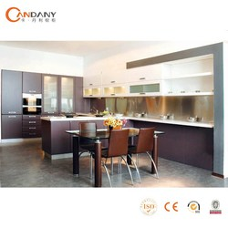 modular fitted customised flashing lacquer kitchen cabinet,laminated plywood kitchen cabinet furniture