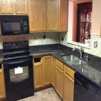 granite countertop kitchen pictures