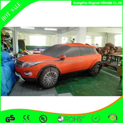 Excellent quality giant inflatable car model in hot sale