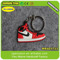3d Nike sneaker shoes shaped keychain wholesales cheap nike shoes keychain