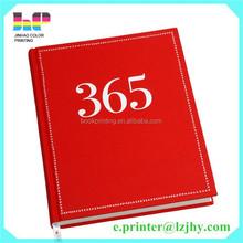 High quality emboss direct factory custom corner notebook printing book printing