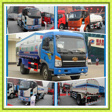 Chengli CLW Brand Carbon steel stainless Mobile Water tanker Truck 10000l to 15000l Water Sprinkler truck cleaning vehicle