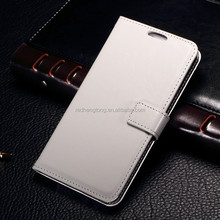Shiny PU leather phone case wallet cell cover for samsung galaxy E700
