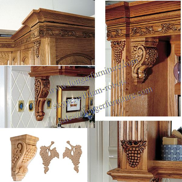 baratos de china tallada a mano ménsula de madera del cnc talla de ...