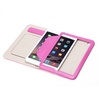 Filp Leather case smart cover case for apple ipad mini 4