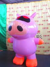 Carino cartoon maiale gonfiabili pubblicitari per la vendita/gonfiabile peppa pig