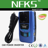 Factory direct new product car power inverter 100w/120w/150w dc12v ac220v
