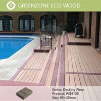 swimming pool floor covering waterproof outdoor decking wpc slat