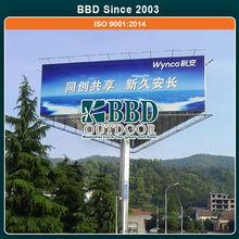 Best manufacturer pretty design lowest price mobile billboard prismas