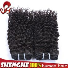 hot sell remy human hair wavy wholesale virgin peruvian deep wave she's happy hair from factory supplier