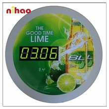 2015 Promotional Electric Chinese Wall Clock with Modern Design