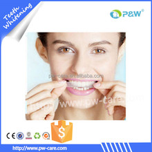 Hydrogen 6% home use 3d teeth whitening strips better than crest