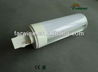 G24 LED Aluminum and PC Cover Housing and fixtures for LED Lamp