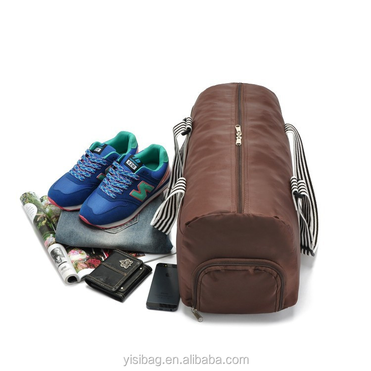 custom personalized sports traveling bag with shoe