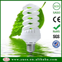 rohs light full spiral compact fluorescent lamp china market of electronic