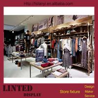 Retail gondola clothing stores in new york