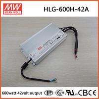 HLG-600H-42A 600W 42V 14.3 amp Meanwell led bulb driver