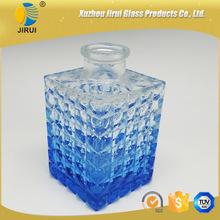 High white glass material 150ml perfume diffuser bottle car
