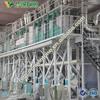 maize grits processing plant