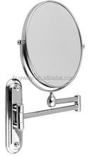 Trade assurance round compact hanging chain mirror