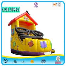 2015 new style Children Outdoor Slide Set Commercial Amusement PVC Inflatable Dry Slide For Sale