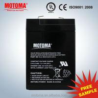 6v 4ah sealed lead acid battery 6v4ah MF VRLA battery MOTOMA POWER