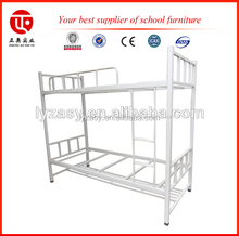 Military metal bed white bedroom set furniture single bunk bed