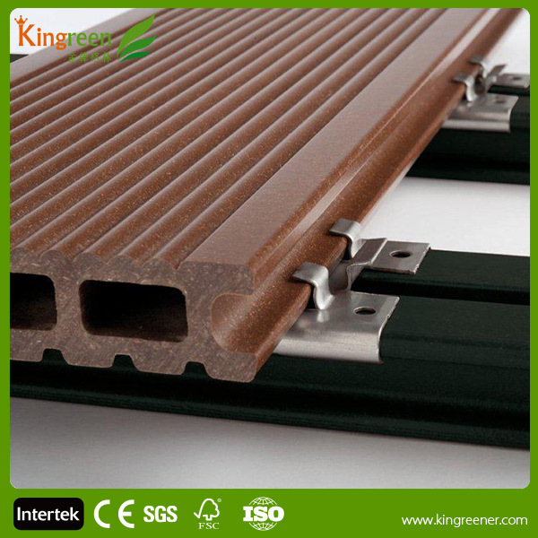 Waterproof composite decking faux wood decking swimming for Wood decking boards for sale