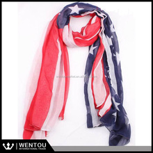 Voile America flag scarf