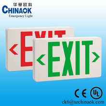 New Arrived Brightness Led Exit Lamp Fire Exit Sign for Shopping Mall Used