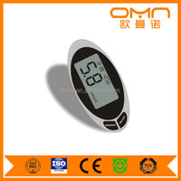 China Professional ISO Maufacturer Warning Digital Blood Glucometer