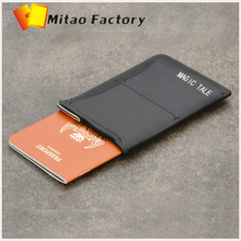 signature Bellroy pull-tab handy pen Bag Travel Business Cow Leather Passport Sleeve Wallet Customize Slim Service Leather purse