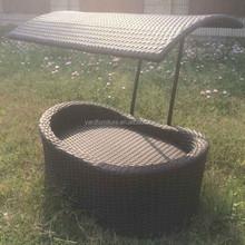 UV resistant PE rattan funny cat beds and Pet furniture