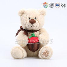 25-30cm plush material stuffed toys bear(ICTI Audit)